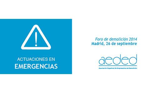 AEDED_Foro_demolicion_2014_cabecera