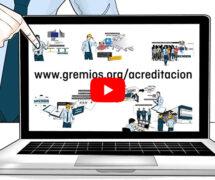 Vídeo divulgativo de GREMIOS sobre acreditación