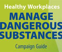 """Guía sobre """"Gestión de sustancias peligrosas en lugares de trabajo saludables"""""""